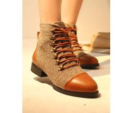 Combat boots, lita boots ,oxford xinh xinh