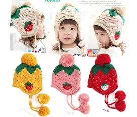 Khai trương shop mũ len xinh yêu giá hấp dẫn, các mẹ cùng ngó nghiêng nhé