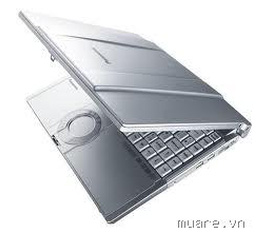 Laptop core 2 duo Panasonic CF T5 giá 3tr200.