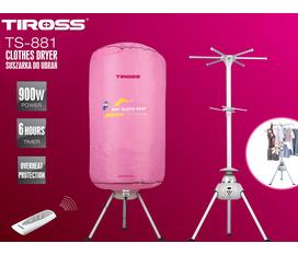 Máy sấy quần áo TIROSS TS881 giá rẻ, chất lượng tốt