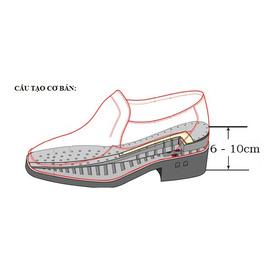 cấu tạo giày nâng chiều cao mua sắm online Giày nam