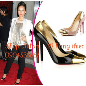 1tr3250 da bóng mũi gold mua sắm online Giày dép nữ