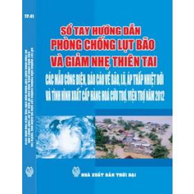 Sổ tay hướng dẫn phòng chống lụt bão mua sắm online Sách, Văn phòng phẩm