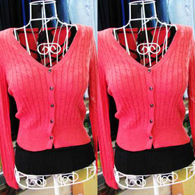 áo khoác len (đỏ cam) mua sắm online Thời trang Nữ