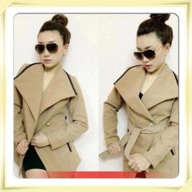 áo khoác màu be,vạt xéo mua sắm online Thời trang Nữ