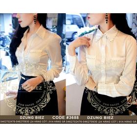 áo sơ mi đính hạt dzung biez mua sắm online Thời trang Nữ