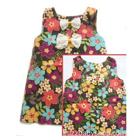 Đầm kate mềm phối 2 nơ Gala, size 2>4>6>8 tuổi mua sắm online Thời trang, Phụ kiện