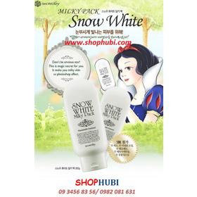 Kem tắm trắng mặt và người Snow White milky pack Secret Key Hàn Quốc mua sắm online Phụ kiện, Mỹ phẩm nữ