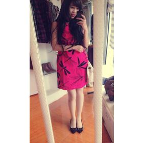 - Váy Mango: Hoạ tiết chuồn chuồn mới nhất cho mùa xuân hè năm 2014 nha, chất liệu misa xốp cực lạ, đẹp lắm các nàng ạ, mix ngoài với mangto thì ai có mua sắm online Thời trang Nữ