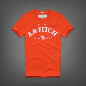 Áo thun cổ tròn abercrombie fitch AF nam giới thời trang châu Âu thể thao mua sắm online Thời trang Nam