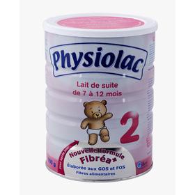 Sữa Physiolac 2 900g mua sắm online Sữa, Bỉm
