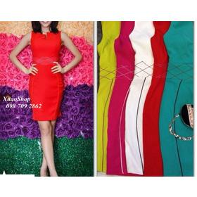Đầm body sát nách viền eo (Hàng thiết kế) mua sắm online Thời trang Nữ
