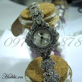 Đồng hồ mặt thoi dây hoa mua sắm online Phụ kiện, Mỹ phẩm nữ