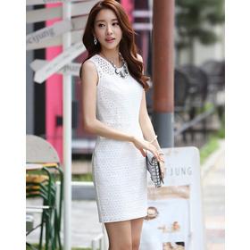 Váy liền thân Hàn Quốc 180607 mua sắm online Thời trang Nữ