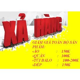 từ ngày 29 06 xả hàng toàn bộ sản phẩm áo 150k quần 100k dép 150k mua sắm online Phụ kiện nam