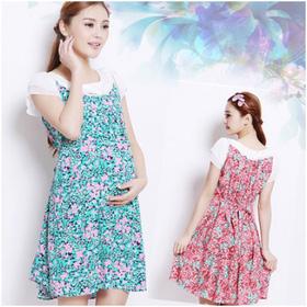 Váy bầu họa tiết hoa XD 0727 mua sắm online Thời trang, Phụ kiện