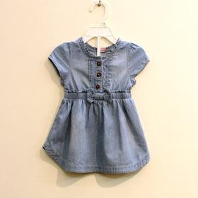 Váy bò bé gái nơ bụng mua sắm online Thời trang, Phụ kiện