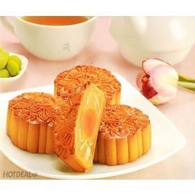 Bánh Nướng 2 Trứng - Bánh Trung Thu Kinh Đô mua sắm online Noel, Tết, 8/3, Trung thu