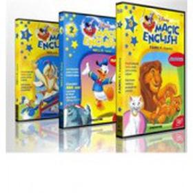 Học tiếng anh trẻ em qua các đoạn phim hoạt hình Disney Magic English 55DVD kèm theo danh mua sắm online Sách, DVD/ VCD