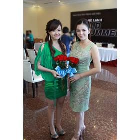đầm xanh voan liền MiDu mua sắm online Thời trang Nữ