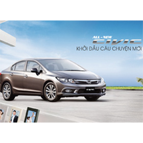 Civic 9 mua sắm online Xe hơi