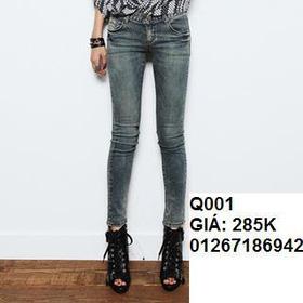 jean skinny q001 mua sắm online Thời trang Nữ