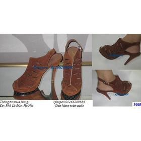 DH 02 mua sắm online Giày dép nữ