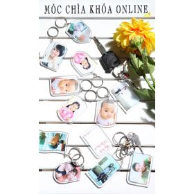 móc chìa khóa bằng ảnh mua sắm online Sách, Văn phòng phẩm