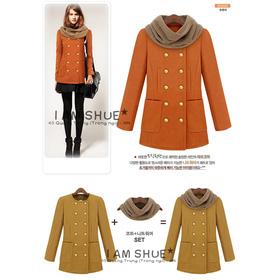 Áo khoác dạ 10027 mua sắm online Thời trang Nữ
