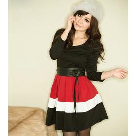 váy tiểu thư, kèm đai mua sắm online Thời trang Nữ