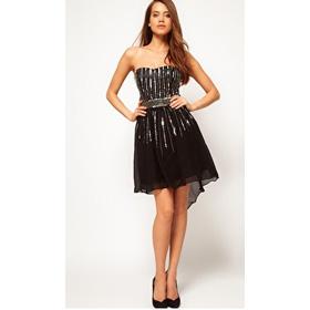 Đầm dài dạ hội mua sắm online Dịch vụ thời trang