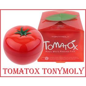 Tomatox Magic White Massage Mask - Tonymoly - Massage làm trắng da chiết xuất cà chua mua sắm online Phụ kiện, Mỹ phẩm nữ