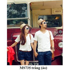 MS735 trắng (áo) mua sắm online Thời trang Nữ