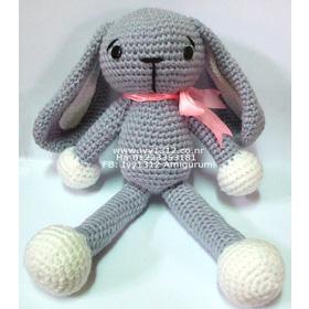 Thỏ xám đeo nơ xinh xắn 200K mua sắm online Sách, Văn phòng phẩm