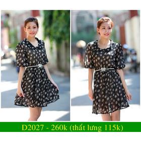 Đầm D2027 mua sắm online Thời trang Nữ