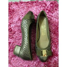 Bệt salvatore gót vuông mua sắm online Giày dép nữ