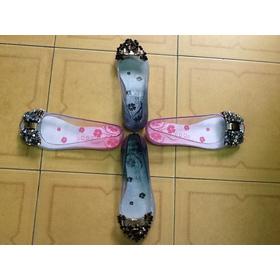 Giầy nhựa trong Thái Lan mua sắm online Giày dép nữ
