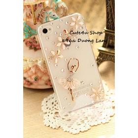 Cô gái bale váy đá mua sắm online Linh/ Phụ kiện điện thoại