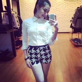 * áo so mi  dáng ngan cực chơi_140k mua sắm online Thời trang Nữ