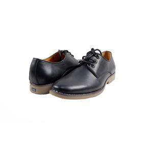 Giày nam da trơn màu đen (270) mua sắm online Giày nam