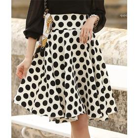 Chân váy chấm bi Hàn Quốc 25078 mua sắm online Thời trang Nữ