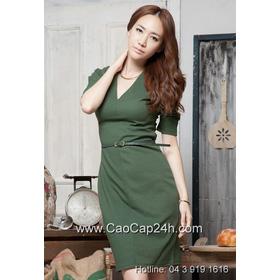 Váy liền thân Hàn Quốc 190824 mua sắm online Thời trang Nữ