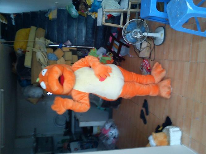 Cho thuê trang phục thú bông. trang phục hoạt hình, hóa trang, mascot, linh vật biểu diễn, linh vật mascot worldcup 2014 Ảnh số 20840931