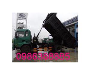 Xe thùng 8 tấn 7 tấn cửu long, giá xe ô tô tải cửu long 1,25t 3.45 tan 4,95 tấn 6,2 tấn, bán xe ben 950kg giá rẻ nhất Ảnh số 23740104