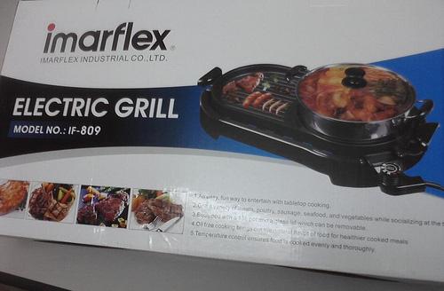 Bếp lẩu nướng 2 trong 1 imarflex Thai Land,Bếp điện lẩu nướng bếp lẩu nướng giá rẻ nhất chỉ có 890k Ảnh số 26018157