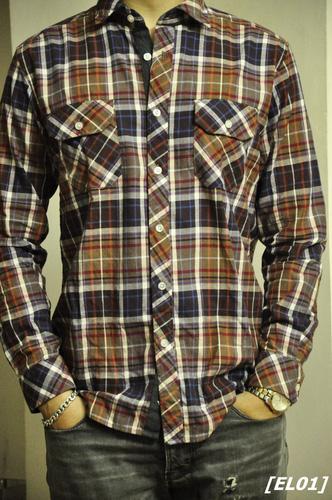 Sơ mi pha len, ấm áp mà vẫn rất hợp thời trang Ảnh số 26596197