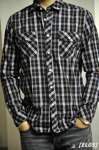Sơ mi pha len, ấm áp mà vẫn rất hợp thời trang Ảnh số 26596212
