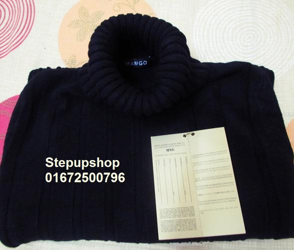 XẢ HÀNG GIÁ SOCK Áo phao Converse 3 lớp xuất Hàn 15 màu giá 390k, áo len cổ lọ Zara dày dặn 100k len Mango chất đẹp 100 Ảnh số 26792649