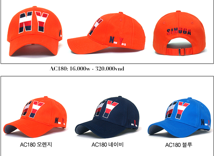 Korea Mũ lưỡi trai Cho bạn một phong cách mới. Update liên tục mẫu mã..... Ảnh số 27034947
