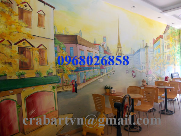 Vẽ tranh tường chất lượng cao giá rẻ. Ảnh số 27170460